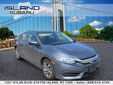2016 Honda Civic for sale in Staten Island, NY