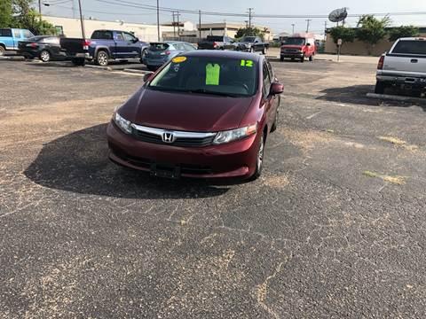 2012 Honda Civic for sale in Waco, TX