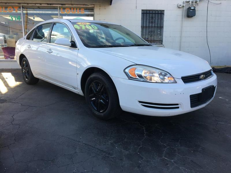 2008 Chevrolet Impala For Sale At The Carlot Of St Louis LLC In Saint Louis  MO