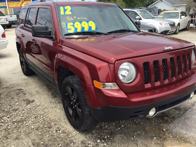 2012 Jeep Patriot For Sale At Nolau0027s Auto Wholesale Outlet, Inc. In  Englewood FL