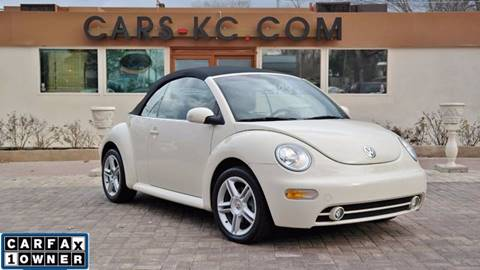 2004 Volkswagen New Beetle for sale at Cars-KC LLC in Overland Park KS