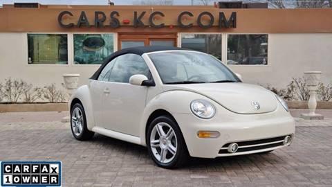2004 Volkswagen New Beetle for sale at Cars-KC LLC in Overland Park KS