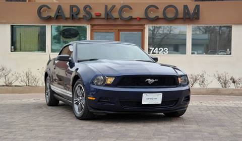 2010 Ford Mustang for sale at Cars-KC LLC in Overland Park KS