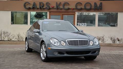 2006 Mercedes-Benz E-Class for sale at Cars-KC LLC in Overland Park KS