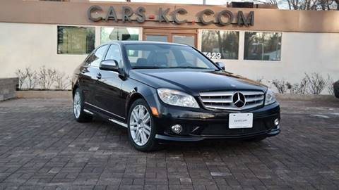 2008 Mercedes-Benz C-Class for sale at Cars-KC LLC in Overland Park KS