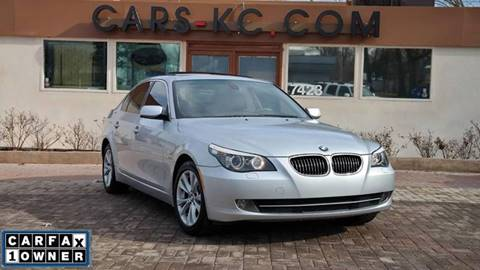 2009 BMW 5 Series for sale at Cars-KC LLC in Overland Park KS