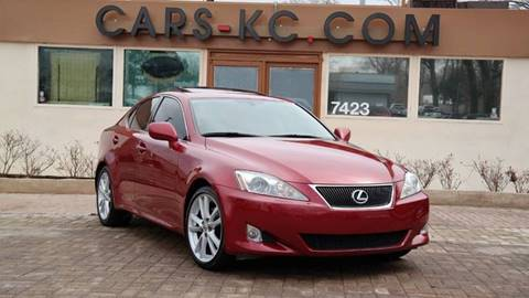 2007 Lexus IS 250 for sale at Cars-KC LLC in Overland Park KS