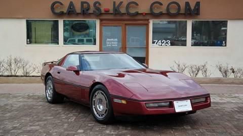 1987 Chevrolet Corvette for sale at Cars-KC LLC in Overland Park KS