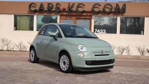 2013 FIAT 500 for sale at Cars-KC LLC in Overland Park KS