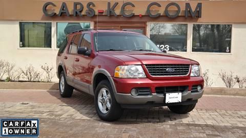 2002 Ford Explorer for sale at Cars-KC LLC in Overland Park KS