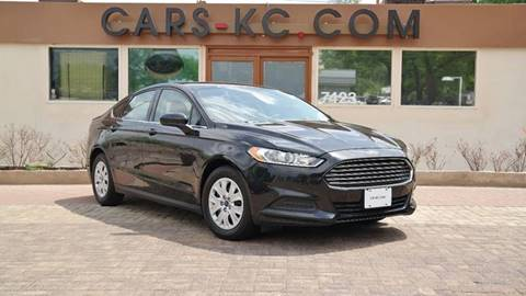 2014 Ford Fusion for sale at Cars-KC LLC in Overland Park KS