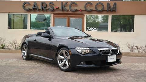 2009 BMW 6 Series for sale at Cars-KC LLC in Overland Park KS