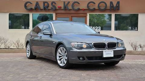 2007 BMW 7 Series for sale at Cars-KC LLC in Overland Park KS
