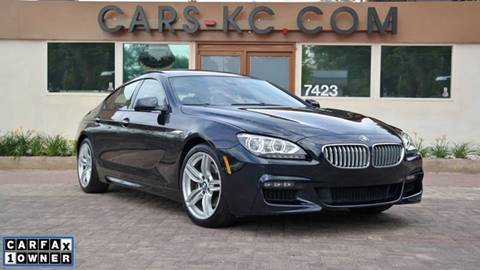 2014 BMW 6 Series for sale at Cars-KC LLC in Overland Park KS