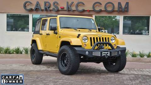 2015 Jeep Wrangler Unlimited for sale at Cars-KC LLC in Overland Park KS