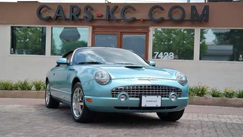 2002 Ford Thunderbird for sale at Cars-KC LLC in Overland Park KS