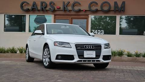 2011 Audi A4 for sale at Cars-KC LLC in Overland Park KS
