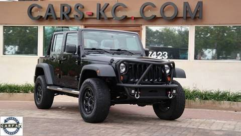 2009 Jeep Wrangler Unlimited for sale at Cars-KC LLC in Overland Park KS
