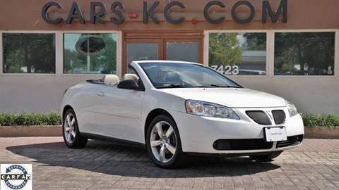 2006 Pontiac G6 for sale at Cars-KC LLC in Overland Park KS