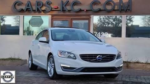 2015 Volvo S60 for sale at Cars-KC LLC in Overland Park KS