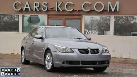 2006 BMW 5 Series for sale at Cars-KC LLC in Overland Park KS