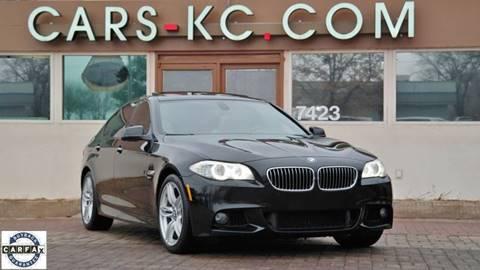 2011 BMW 5 Series for sale at Cars-KC LLC in Overland Park KS