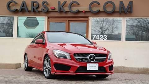 2014 Mercedes-Benz CLA for sale at Cars-KC LLC in Overland Park KS