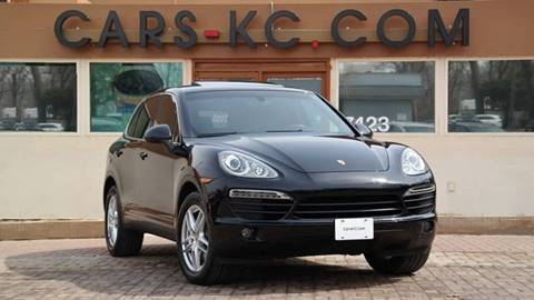 2012 Porsche Cayenne for sale at Cars-KC LLC in Overland Park KS