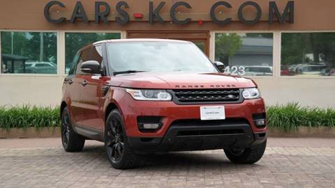 2014 Land Rover Range Rover Sport for sale at Cars-KC LLC in Overland Park KS