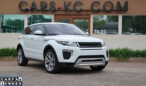 2017 Land Rover Range Rover Evoque for sale at Cars-KC LLC in Overland Park KS