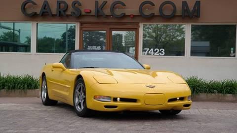 2001 Chevrolet Corvette for sale at Cars-KC LLC in Overland Park KS