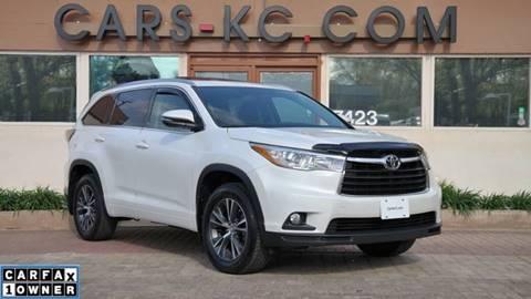 2016 Toyota Highlander for sale at Cars-KC LLC in Overland Park KS