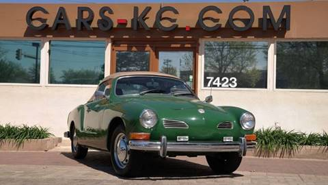 1972 Volkswagen Karmann Ghia for sale at Cars-KC LLC in Overland Park KS