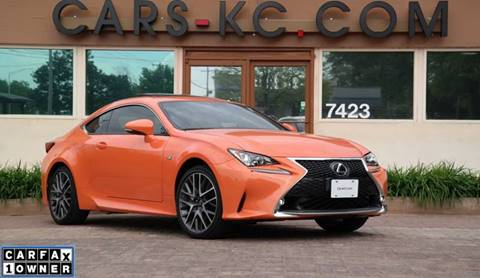 2015 Lexus RC 350 for sale at Cars-KC LLC in Overland Park KS