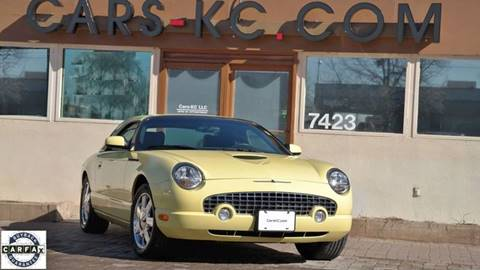 2002 Ford Thunderbird for sale at Cars-KC LLC in Overland Park KS