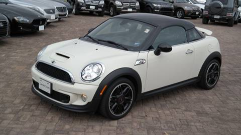 2013 MINI Coupe for sale at Cars-KC LLC in Overland Park KS