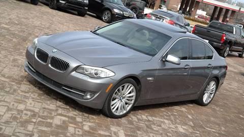2012 BMW 5 Series for sale at Cars-KC LLC in Overland Park KS