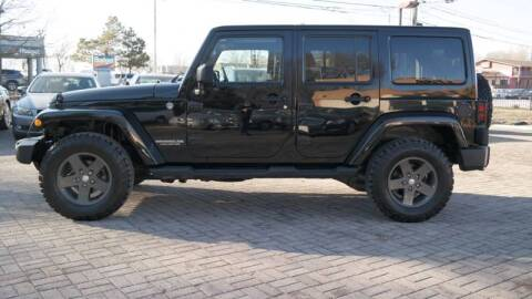 2011 Jeep Wrangler Unlimited for sale at Cars-KC LLC in Overland Park KS