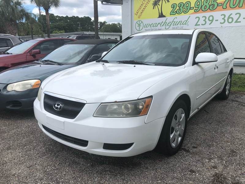 2007 Hyundai Sonata For Sale At Used Cars Of SWFL LLC In Fort Myers FL