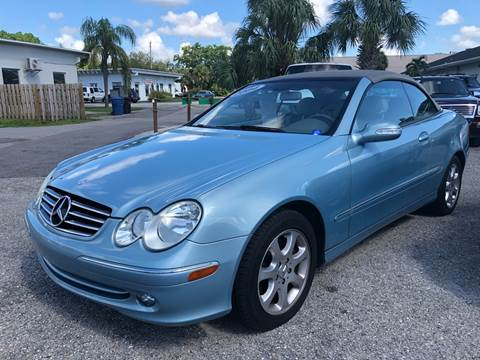 2004 Mercedes Benz CLK For Sale In Fort Myers, FL