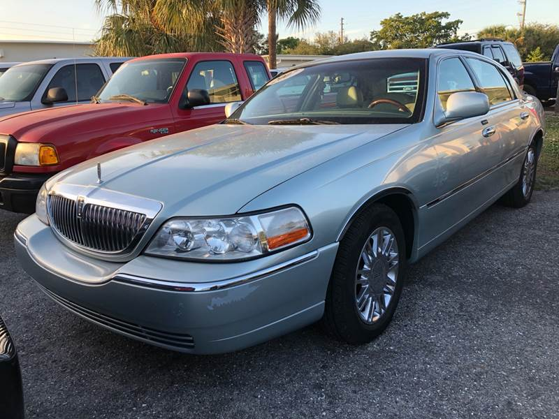 2007 Lincoln Town Car Signature Limited In Fort Myers Fl Used