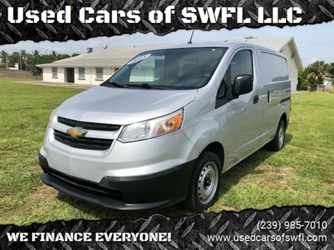 2015 Chevrolet City Express Cargo for sale in Fort Myers, FL