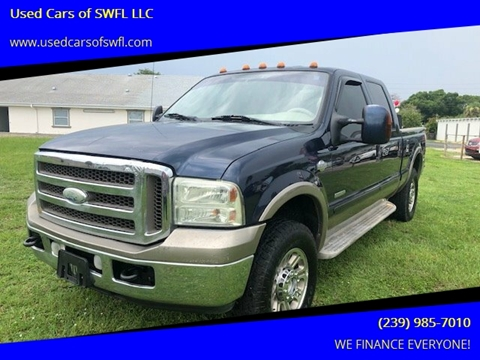 2006 Ford F-250 Super Duty for sale in Fort Myers, FL