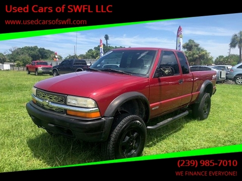 2000 Chevrolet S-10 for sale in Fort Myers, FL
