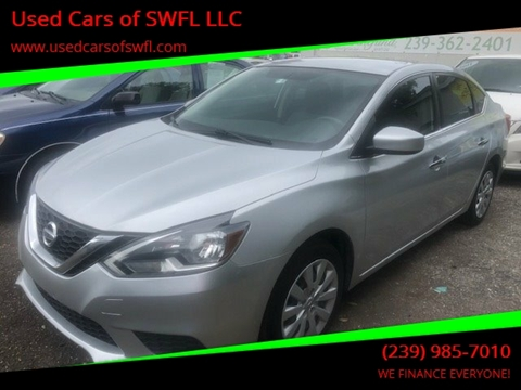 Used Cars Fort Myers >> 2017 Nissan Sentra For Sale In Fort Myers Fl