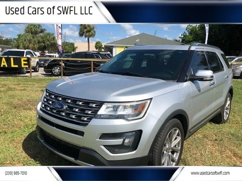 2016 Ford Explorer for sale in Fort Myers, FL