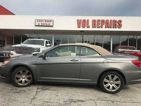 2012 Chrysler 200 Convertible for sale in Decatur, GA