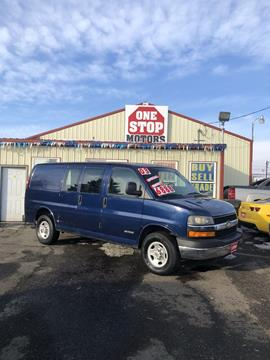 e0ef976f37 2003 Chevrolet Express Cargo for sale in Yakima