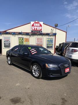 db7f94dd2a 2011 Audi A8 L for sale at One Stop Motors in Yakima WA