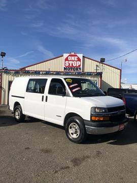 767c1b9641 2006 Chevrolet Express Cargo for sale in Yakima